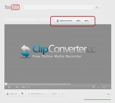 Componente aggiuntivo del browser ClipConverter