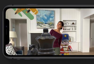 La realtà aumentata posiziona gli oggetti virtuali naturalmente in iOS 13/14