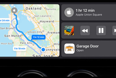 Una dashboard CarPlay semplificata in iOS 13/14