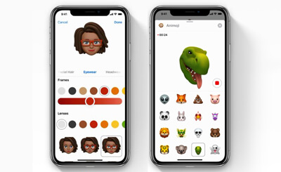Memoji and Animoji in iOS 12