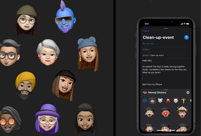 Memoji e Messaggi in iOS 13/14