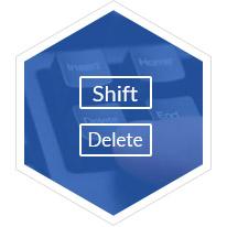 Shift διαγραμμένη ανάκτηση αρχείων