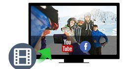 Carica video su YouTube o Facebook