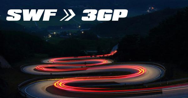 Converti SWF in 3GP