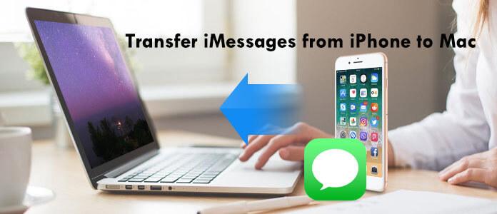Hoe iMessages over te zetten van iPhone naar Mac