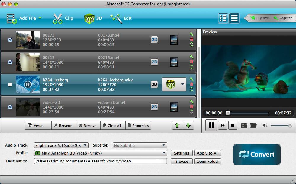 Aiseesoft TS Converter for Mac 9.2.6 full