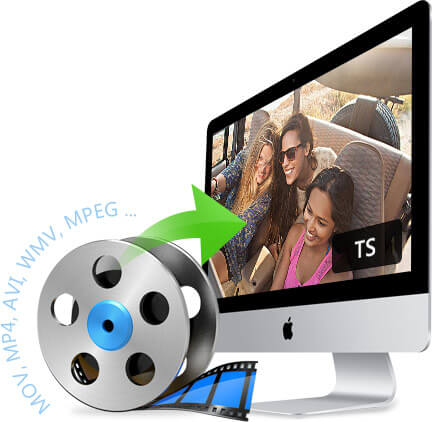 Transform other videos into TS video file
