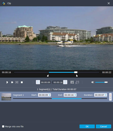 Aiseesoft TS Video Converter Screenshot