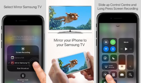 Mirror iPhone To Samsung TV