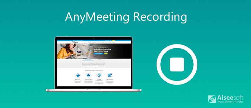 Registra eventi AnyMeeting