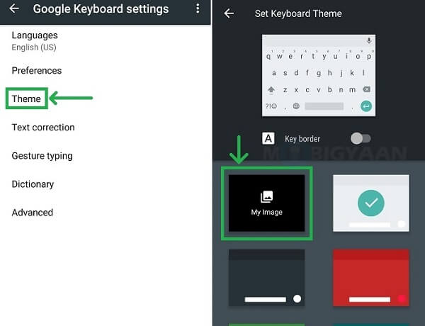 How To Change Keyboard Background On Iphone And Android Phone
