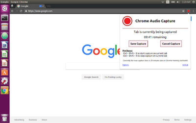 Chrome Audio Capture Extension