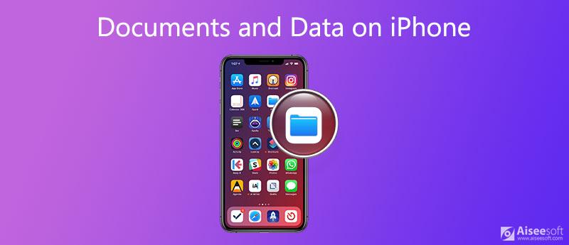 Elimina documenti e dati su iPhone