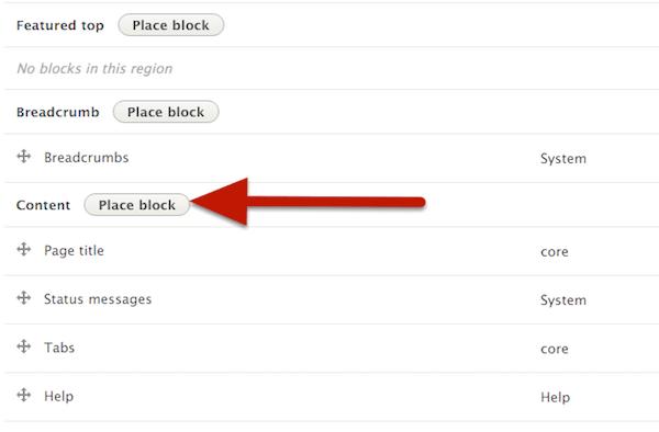 Umieść blok