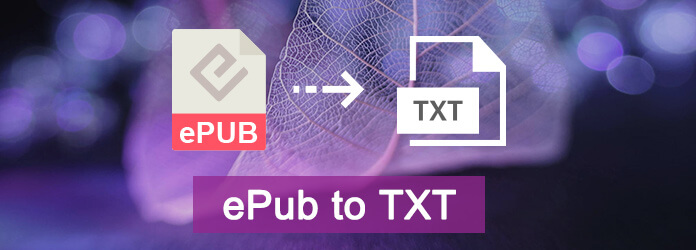 How to Convert ePub to TXT