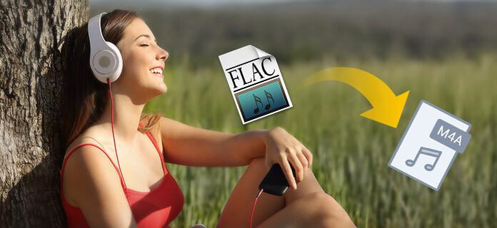 Převod FLAC na M4A