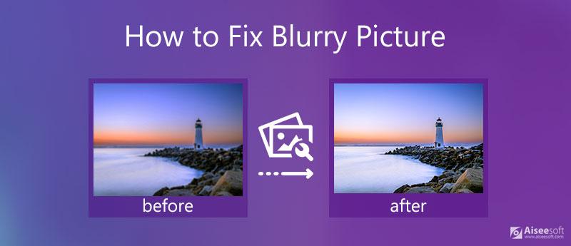 Opravte rozmazaný obrázek
