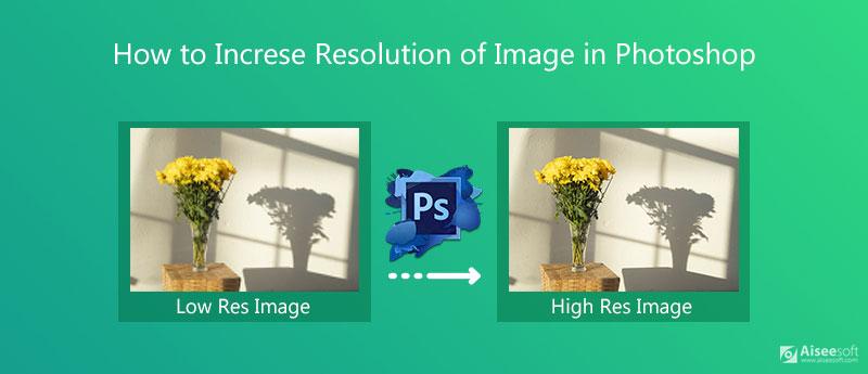 Aumenta la risoluzione dell'immagine in Photoshop