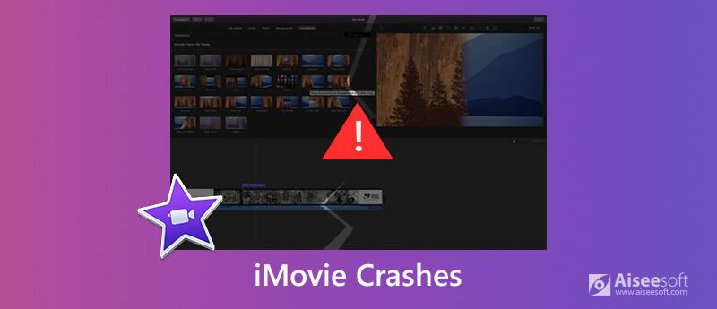 iMovie si blocca