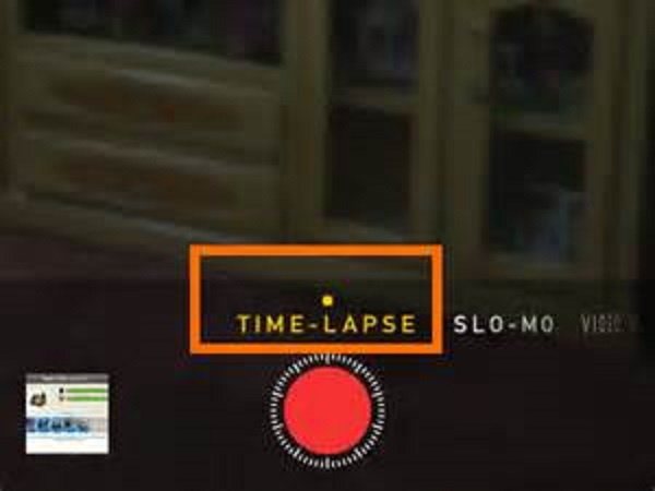 Inizia a registrare video time-lapse