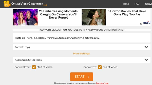 Convertitore video online.com