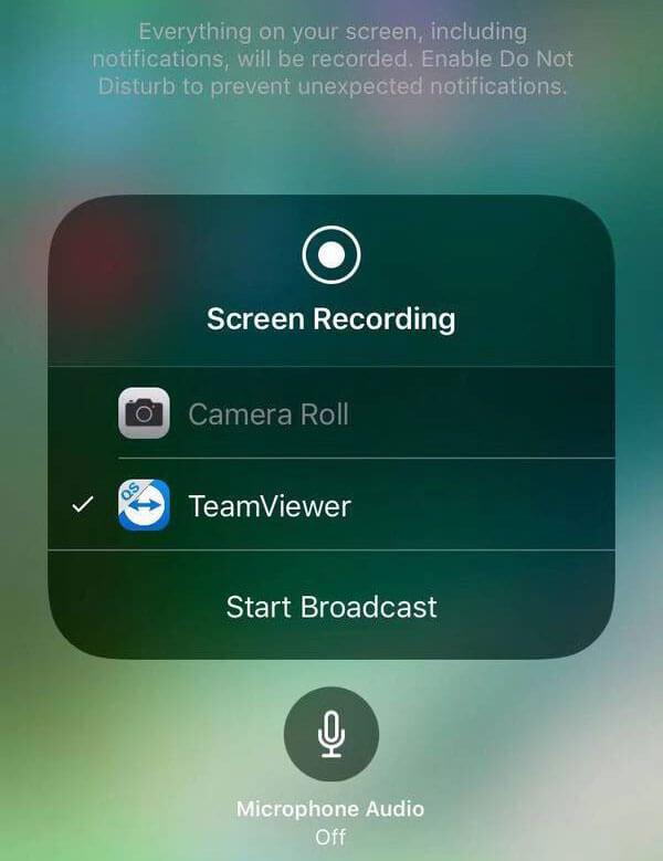 Ηχογράφηση Teamviewer