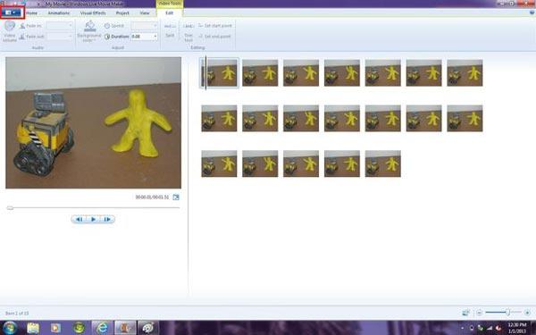 Uložte video Stop Motion do počítače