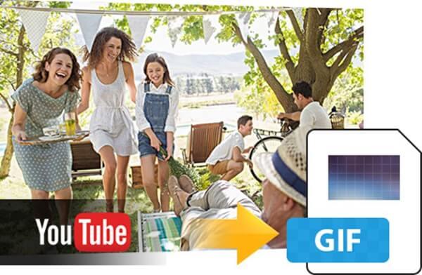 Verander YouTube-video in GIF