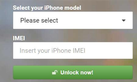 Sblocca iPhone bloccato in iPhoneIMEI.Net