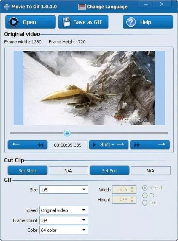 Film in GIF