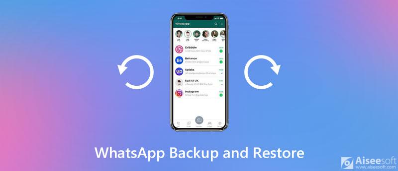 Backup e ripristino delle chat di WhatsApp