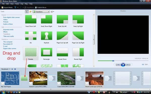 Effetto schermo verde