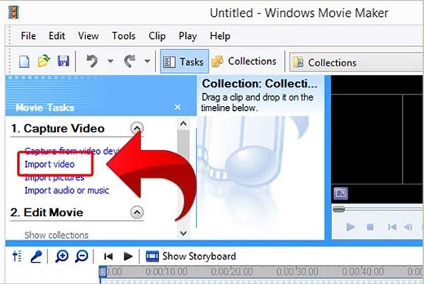 Aggiungi clip video