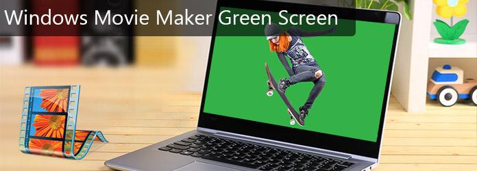 Πράσινη οθόνη Windows Movie Maker