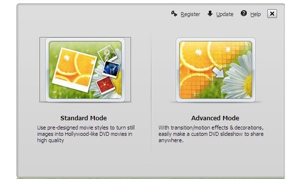 Standard Mode or Advanced Mode