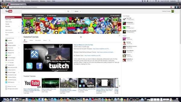 Εξατομικεύστε το κανάλι YouTube