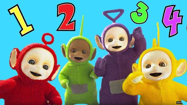 Learn Numbers, Colours with Teletubbies 2018