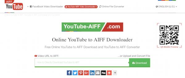 Scarica YouTube in AIFF