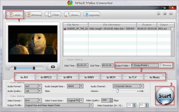 Konwerter wideo WinX