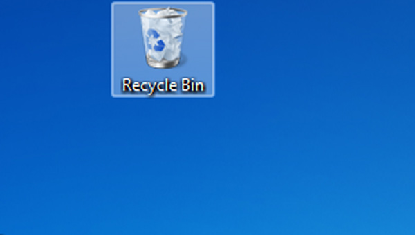 Clear the recycle bin