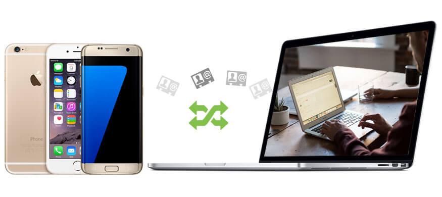 Μεταφορά Διαχείριση vCard μεταξύ τηλεφώνου και υπολογιστή