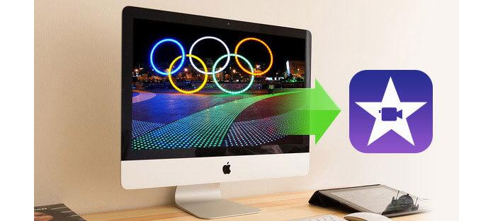 Converti video olimpico in iMovie