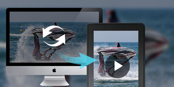 Speel video af op Kindle Fire voor Mac