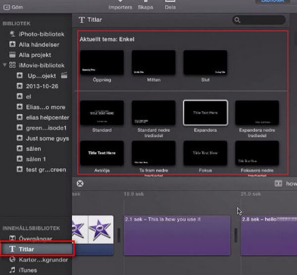 How to add subtitles to videos and movies in imovie add subtitles in imovie 10 ccuart Gallery