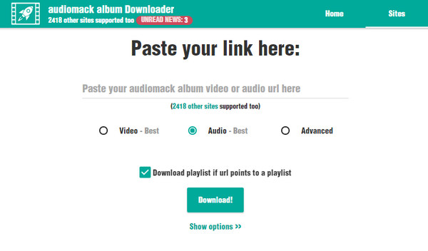 Audiomack Download: How to Download/Record Music from Audiomack