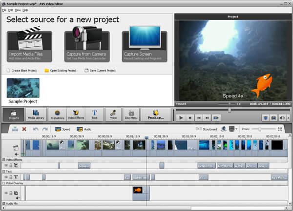 AVS Video Editor Partecipa al video