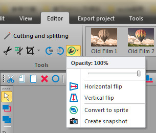 vsdc video editor export