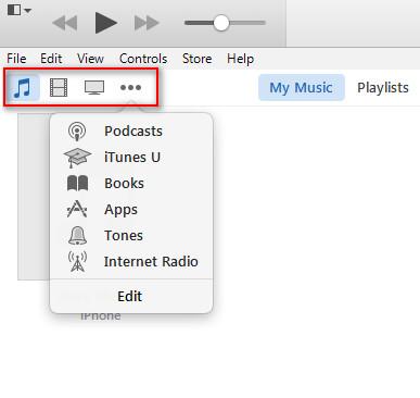 Klikněte na ikonu ICON of Music Movies