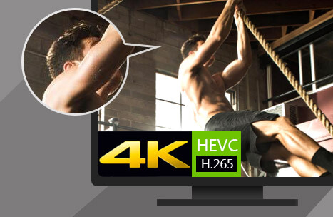 Convert video to and from 4K