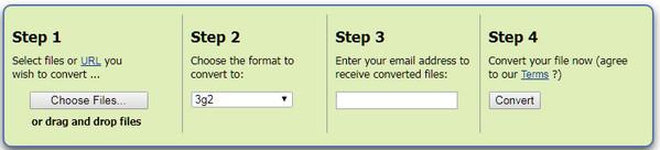 Konwertuj FLV na 3G2 online